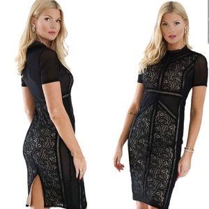 NWT BARDOT sexy lace dress cocktail